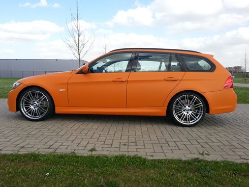 Carwrap BMW4
