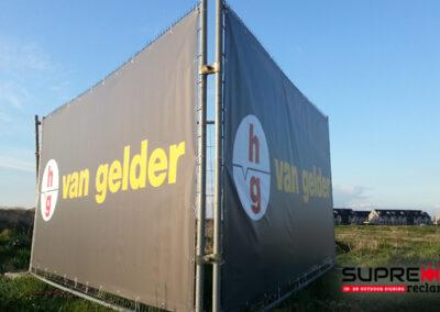 Spandoek laten maken Van Gelder Infra