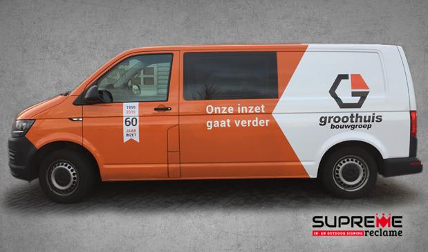Autoreclame Groothuis Bouwgroep 2