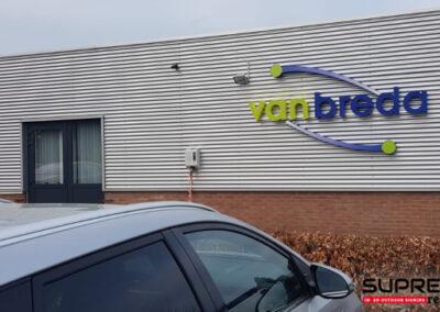 Gevelreclame Van Breda te Brummen
