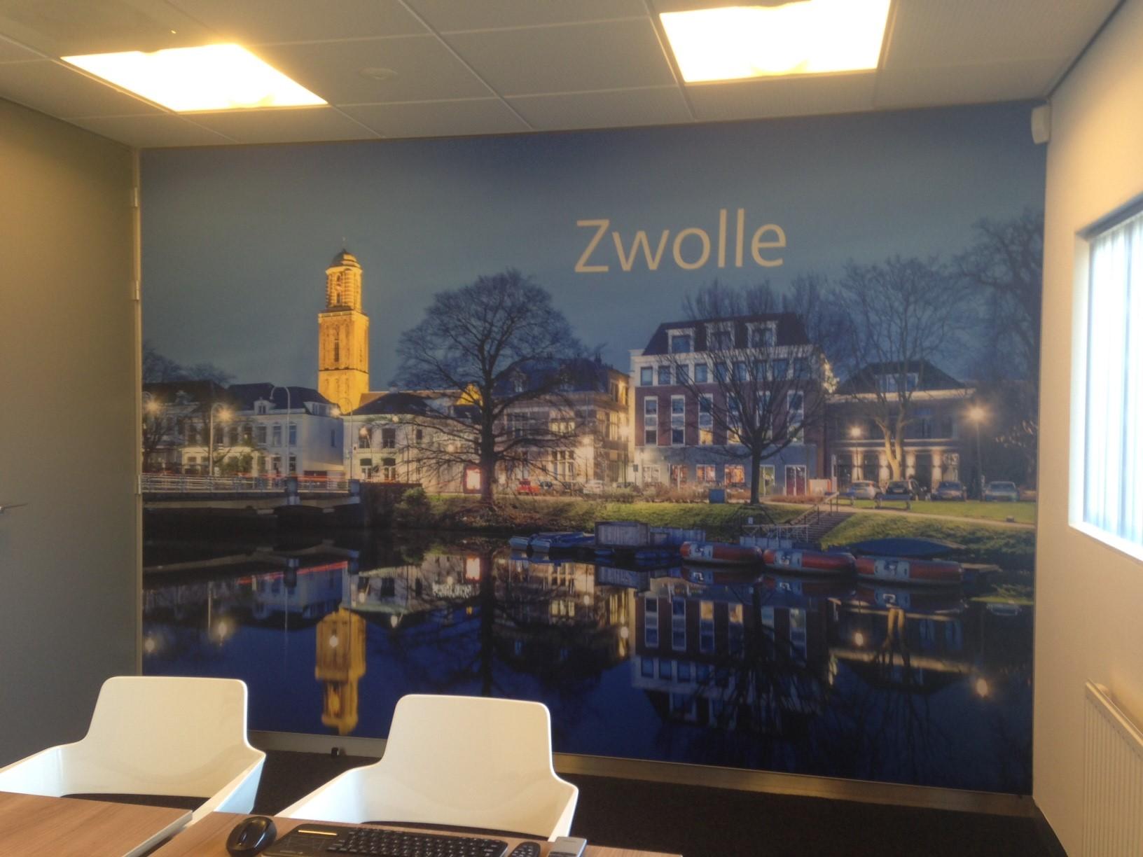 Fotobehang Zwolle