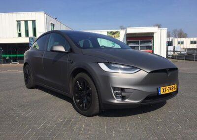 Tesla carwrappen