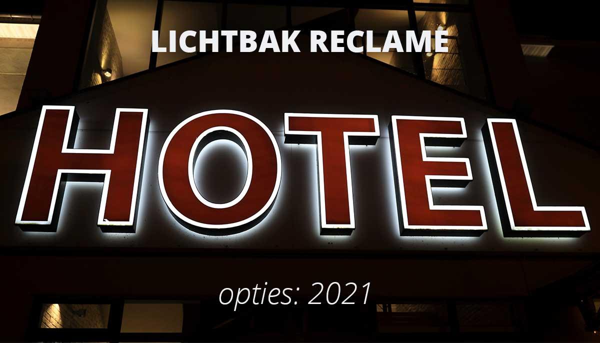 lichtbak-reclame